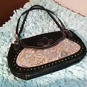 The Sak Vintage Suede & Leather Shoulder bag..